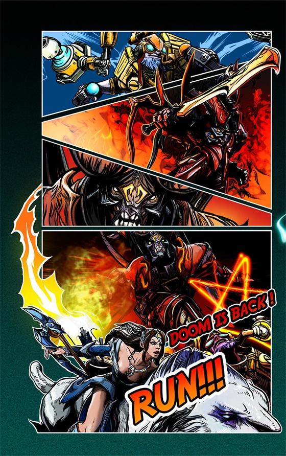 Supermajor开启DOTA2国际邀请赛荣耀之门:Doom is back!