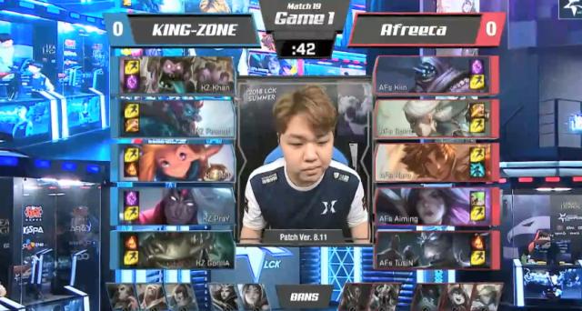 KZ 2-1击败AFS,终结AFs三连胜