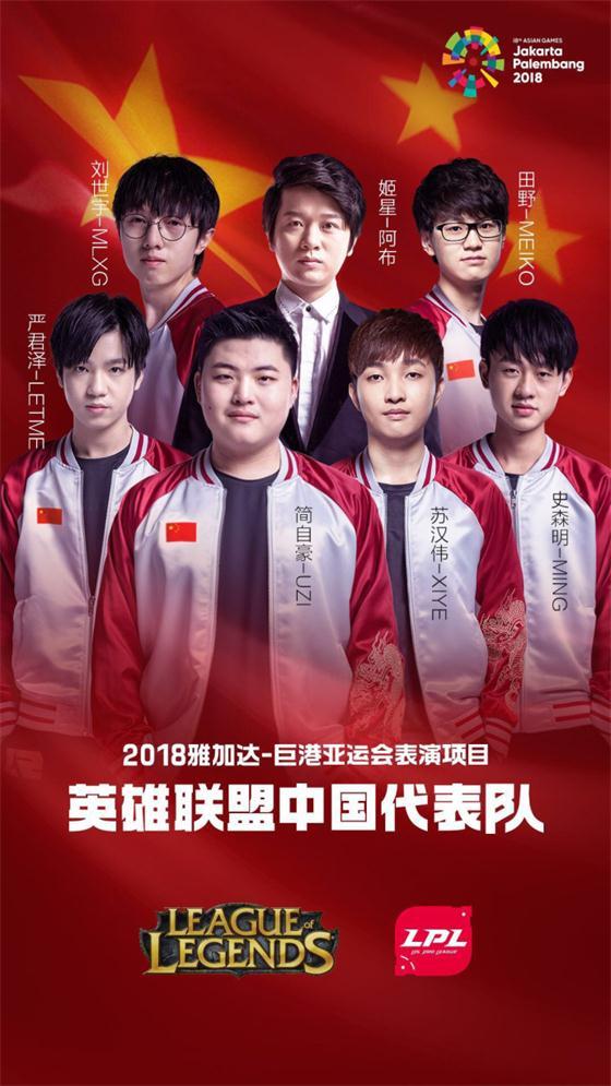 亚运会中国队英雄联盟战绩公开:8胜2负出线