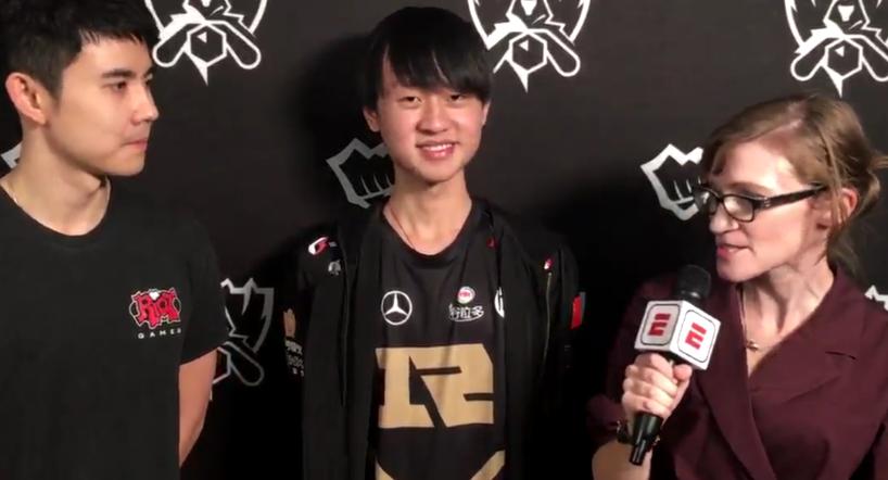RNG Ming:希望如大家所愿拿到S8冠军