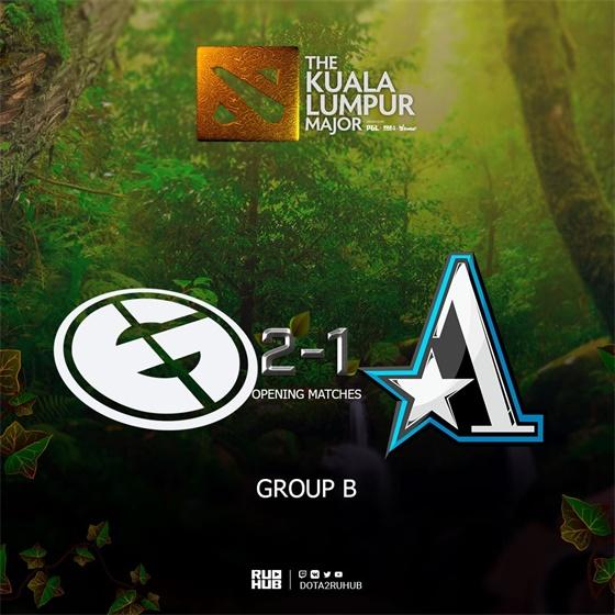 吉隆坡MajorB组:比赛拉满Aster茶队惜败EG