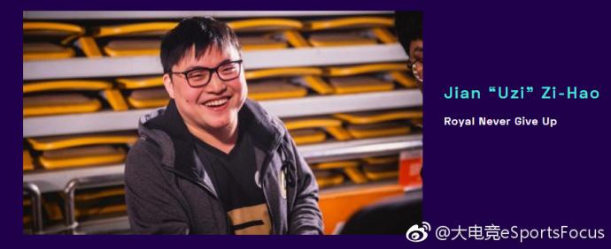 Uzi获得国外游戏大奖TGA提名年度最佳电竞选手