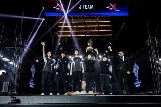 J Team战队勇夺《2018传说对决AIC》世界冠军!