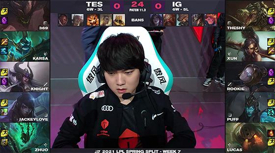 """369三杀杰斯poke伤害一枝独秀,""""忍界大战""""TES让一追二击败iG!"""