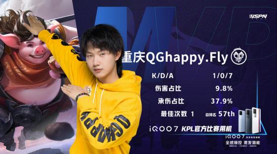 飞牛大将军强势回归!重庆QG 3:1 上海EDGM拿下第2轮首胜!