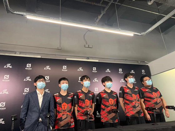 TES 2-0战胜RNG赛后采访,Qingtian:觉得自己今天发挥一般