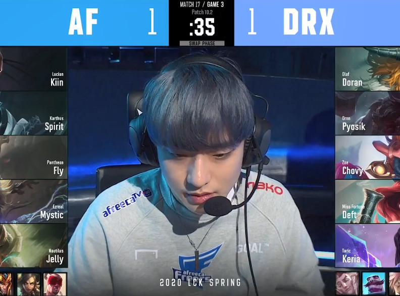 AF决策严重失误白送高地,DRX让一追二豪取四连胜