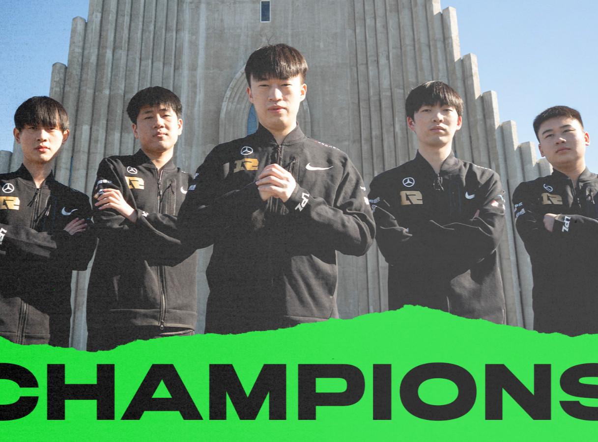 欢迎回到被RNG统治的年代!RNG 3-2力克DK夺得2021 MSI总冠军